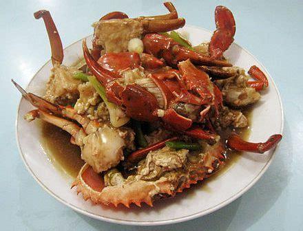 recept kepiting lada hitam balikpapan krab  zwarte
