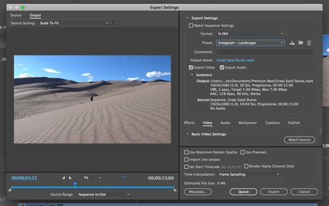 adobe premiere export video format download these free instagram export presets for premiere