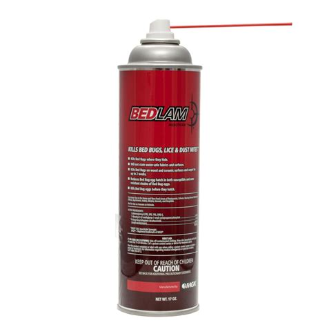 bedlam bed bug spray bedlam aerosol insecticide kills bed bugs lice more
