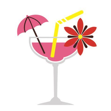 cocktail svg tropical cocktail cuttable design