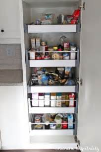 beautiful Where To Put Dishes In Kitchen Cabinets #9: pantry-with-food.jpg