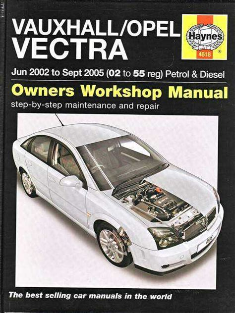 Holden Vectra 2002 2005 Workshop Manual