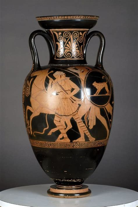 Achilles And Penthesilea Vase by 104 Best Pottery Of The Ancient World Images On