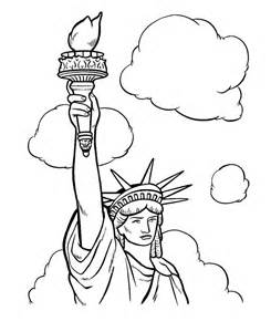 statue of liberty coloring page free printable statue of liberty coloring pages for