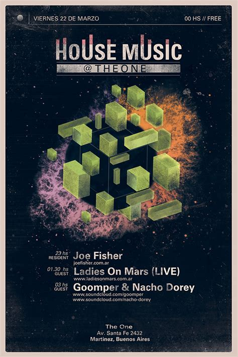 house music flyer house music flyers on behance
