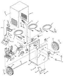 napa battery charger repair parts