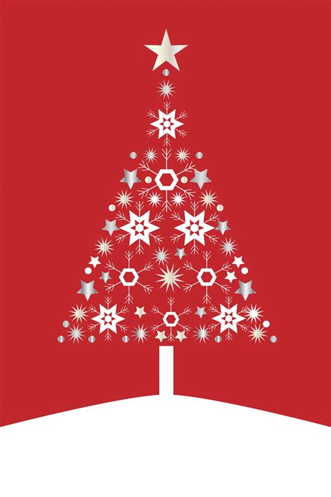 christmas tree card modern free stock photo public