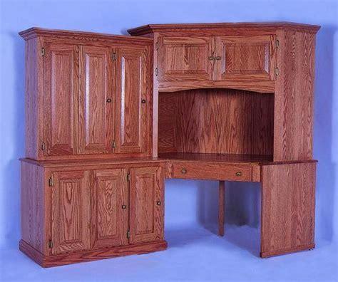 amish corner computer desk large corner computer desk from dutchcrafters amish furniture