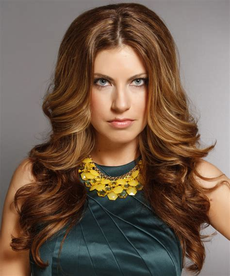 salon la vie highlights hair styling salon prom and long wavy formal hairstyle medium brunette caramel
