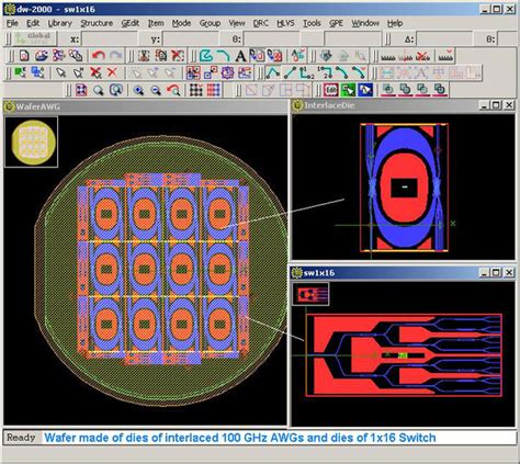 Mask Layout Design Software | dw 2000 layout editor benefits
