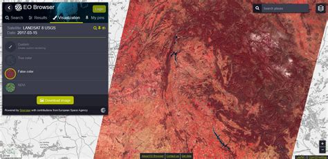 imagenes satelitales falso color eo browser im 225 genes satelitales a un par de clics