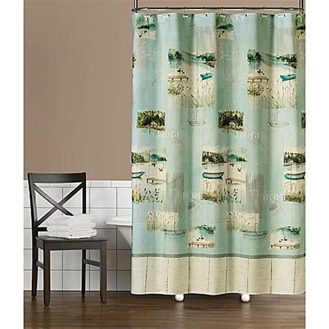 bed bath and beyond hours saturday saturday knight lake retreat shower curtain bed bath