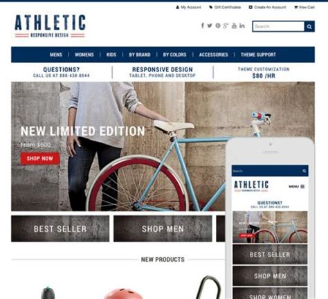 bigcommerce themes templates for sale responsive free
