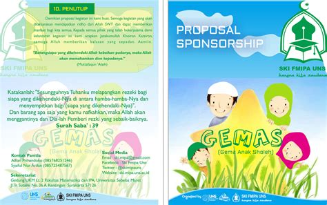 contoh desain proposal yang menarik cara buat proposal sponsorship unik rifan al tw