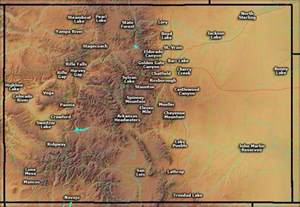 state parks in colorado map colorado state parks