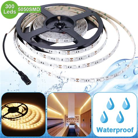 led light waterproof 12v 5050 warm white led waterproof led