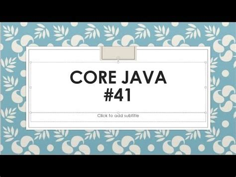 java pattern nested groups java tutorial 12 nested classes doovi