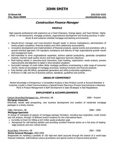 resume format for finance professionals 21 best best construction resume templates sles images on professional resume