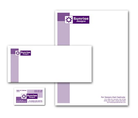business letterhead and business cards letterhead business cards envelopes by robin crabtree at