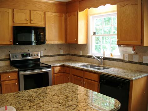 granite kitchen cabinets granite countertop colors oak cabinets home design lover choosing the best of granite