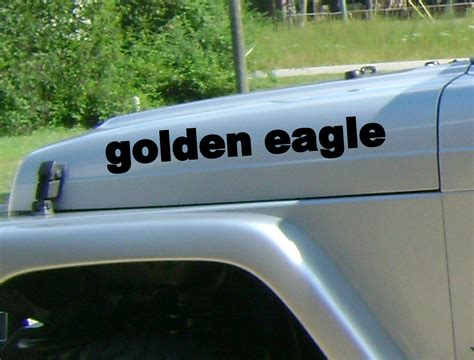 jeep golden eagle decal product 2 golden eagle jeep wrangler rubicon cj tj yk jk