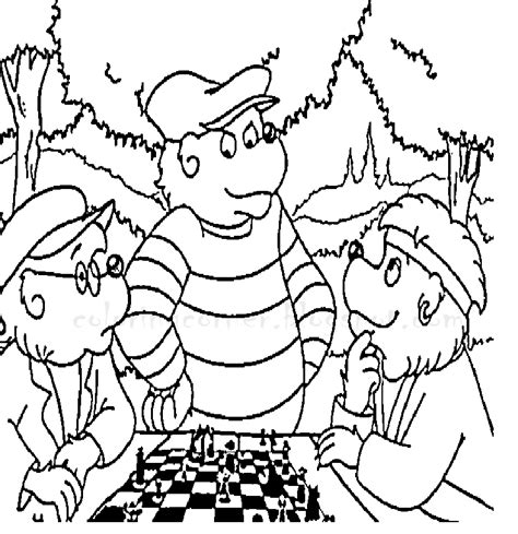 Berenstain Bears Coloring Pages Berenstain Bears Coloring Page
