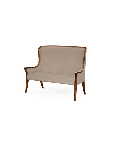 high back settee upholstered 494352 jonathan charles buckingham high curved back settee