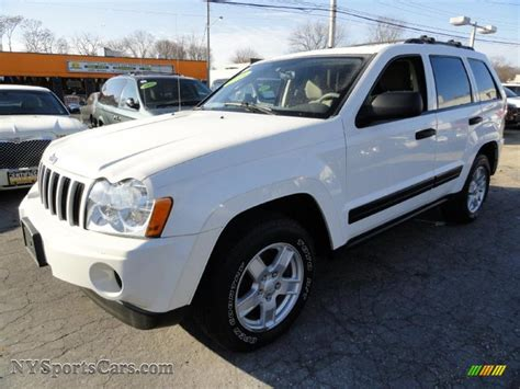 jeep grand cherokee laredo white 2006 jeep grand cherokee laredo 4x4 in stone white