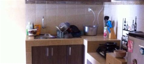 Multiplek Untuk Kitchen Set kitchen set minimalis dapur sempit kitchen set jakarta