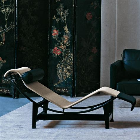 le corbusier lc4 chaise longue style lounge cassina