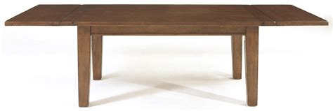 Broyhill Dining Table Broyhill Furniture Attic Rustic 5399 42v Leg Dining Table With Leaves Baer S Furniture