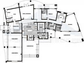 contemporary house floor plans open contemporary house