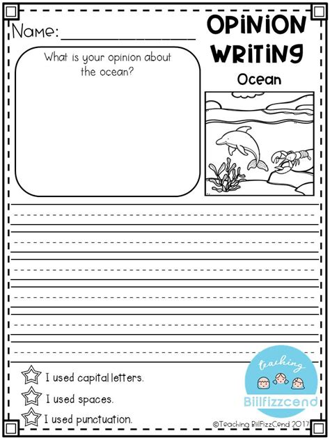 printable journal prompts for second grade free writing prompt opinion writing for first grade this