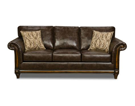 menards couch wood trim sofa italian leather sofa with wood trim thesofa