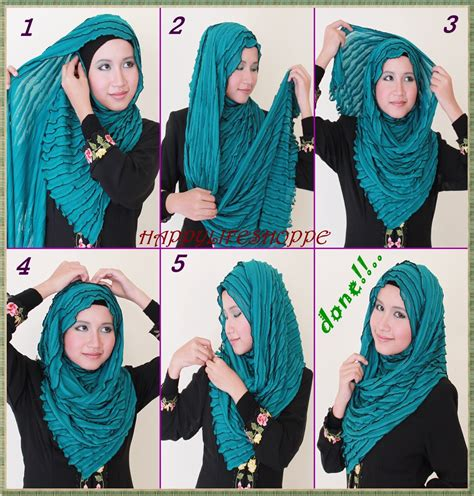 tutorial jilbab pashmina selendang tutorial hijab terbaru tutorial hijab pesta untuk wajah bulat