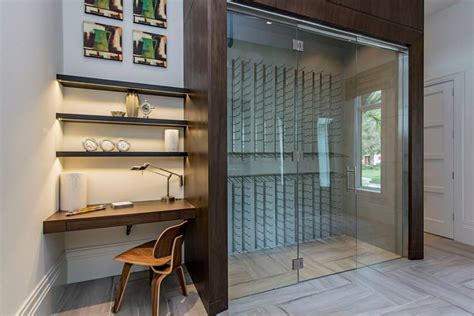 glass wine room doors glass wine cellar builders glass of bonita inc