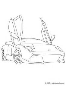 Coloriages Lamborghini Murcielago Colorier Fr Hellokids Com L