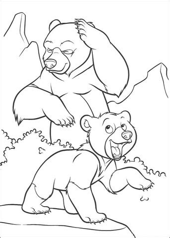 laughing dog coloring page little bear is laughing coloring page supercoloring com