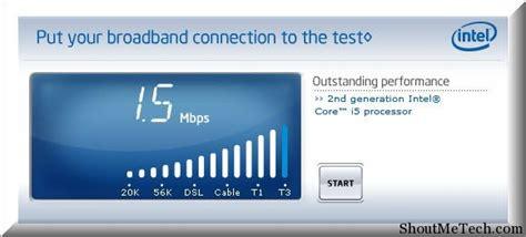 intel speed test 10 best free speed test site to check speed