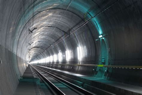 imagenes de web tunnel gotthard base tunnel inside the world s longest railway