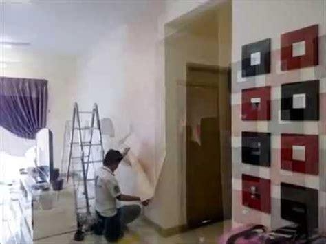 Talenan Lukis Custom Wall Decor Hiasan Rumah cara pasang wallpaper pemasangan korea wallpaper wallcoverings expert picsy buzz