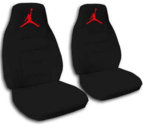 michael car seat 2 front black seat covers with a jumpman universal size