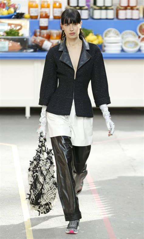 Contention On The Catwalk As Fashion Finds It Conscience by Fashion Week Karl Lagerfeld Stages Chanel Catwalk