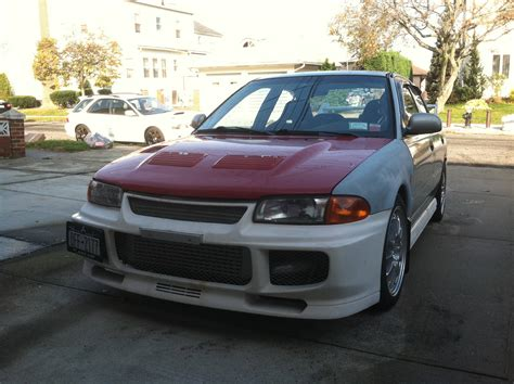 mitsubishi mirage evo conversion evo3 and evo4 mirage conversions evolutionm mitsubishi