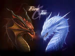 pics photos fire ice dragons
