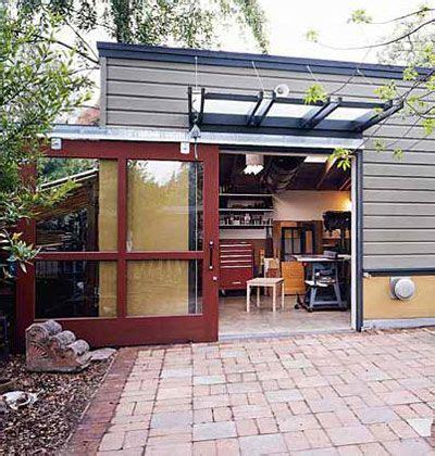 28 Best Backyard Buildings Images On Pinterest Backyard Sliding Glass Garage Doors