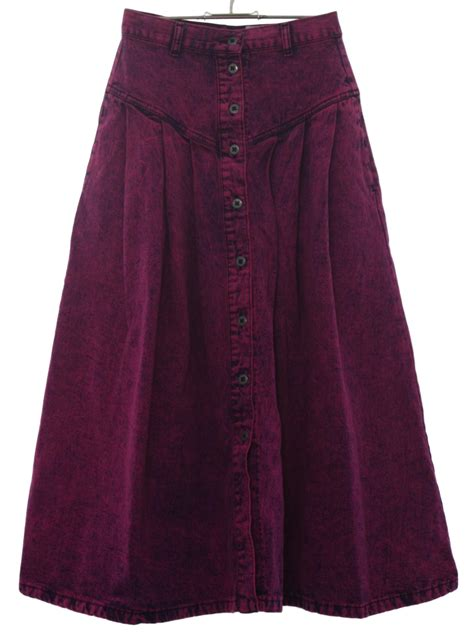 80s retro skirt 80s sundance womens midnight blue and