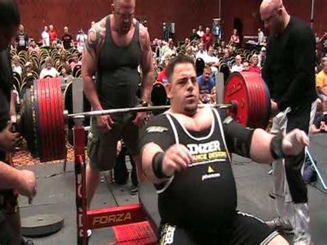 tiny meeker raw bench patrick holloway 821 pound deadlift 2009 wabdl worlds