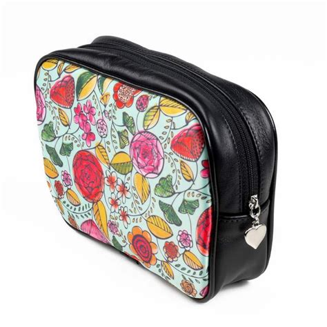 photo makeup bag custom printed personalized cosmetic bags