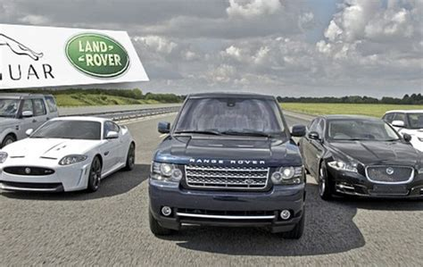 jaguar land rover   electric car pledge